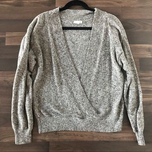 Urban outfitters wrap sweater